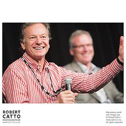 Andrew Shaw;Steve Maharey at the Spada Conference 06 at the Hyatt Regency Hotel, Auckland, New Zealand.<br />