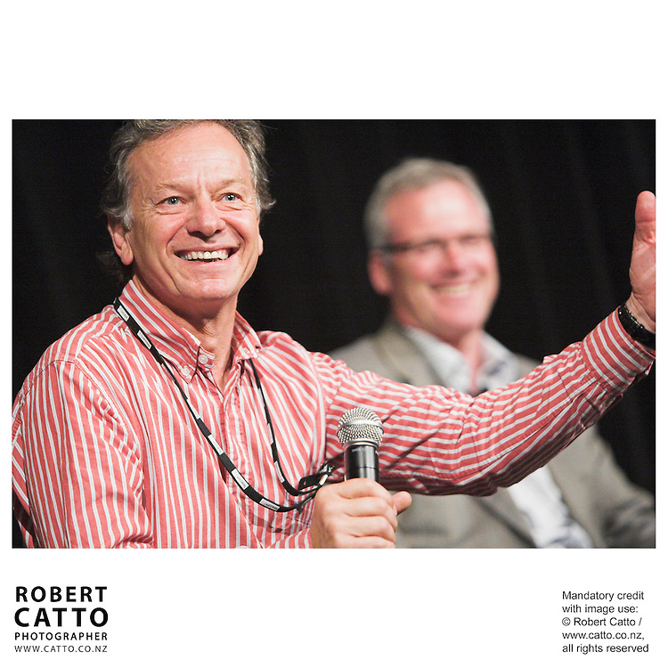 Andrew Shaw;Steve Maharey at the Spada Conference 06 at the Hyatt Regency Hotel, Auckland, New Zealand.<br />