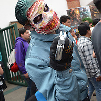 TOLUCA, Mexico, (Abril 16, 2016).- Durante la décimo segunda edición de Expo Magyc, se dieron cita cientos de jóvenes, niños y adultos para disfrutar de las diferentes actividades, artísticas, de cultura, espectáculos, concursos, alimentos, video juegos, entre otros, en el parque Luis Donaldo Colosio. Agencia MVT. José Hernández.