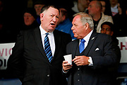 Peterborough Utd Director of Football Barry Fry  and CEO Bob Symns before the EFL Sky Bet League 1 match between Peterborough United and Blackpool at London Road, Peterborough, England on 18 November 2017. Photo by Nigel Cole.