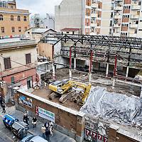 Proteste per la demolizione dell'ex fonderia Bastianelli