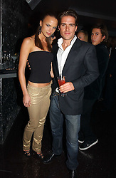 PATRICK MEEHAN JNR and NATHALIE BOMGREN at a party to celebrate the opening of Kitts nightclub, 7-12 Sloane Square, London on 7th December 2006.<br /><br />NON EXCLUSIVE - WORLD RIGHTS