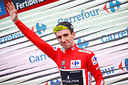 Podium Simon Yates (GBR - Mitchelton - Scott) red leader jersey during the 73th Edition Tour of Spain, Vuelta Espana 2018, stage 10 cycling race, Salamanca - Fermoselle Bermillo de Sayago 177 km on September 4, 2018 in Spain - Photo Luca Bettini / BettiniPhoto / ProSportsImages / DPPI