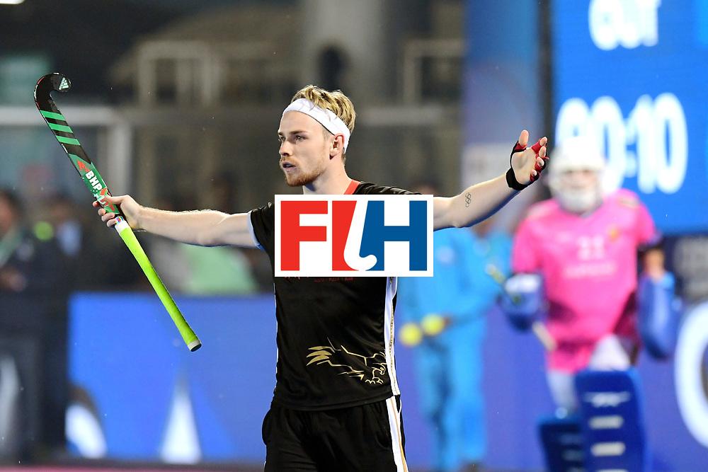 Odisha Men's Hockey World League Final Bhubaneswar 2017<br /> Match id:16<br /> Germany v Netherlands<br /> Foto: Shoot Out <br /> Germany wins the shoot out<br /> Christopher Ruehr (Ger) <br /> COPYRIGHT WORLDSPORTPICS FRANK UIJLENBROEK