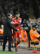 Liverpool v Swansea City 291214