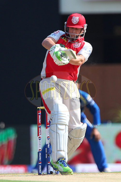 Adam Gilchrist during match 69 of the Pepsi Indian Premier League between The Kings XI Punjab and the Mumbai Indians held at the HPCA Stadium in Dharamsala, Himachal Pradesh, India on the on the 18th May 2013..Photo by Ron Gaunt-IPL-SPORTZPICS ..Use of this image is subject to the terms and conditions as outlined by the BCCI. These terms can be found by following this link:..http://www.sportzpics.co.za/image/I0000SoRagM2cIEc