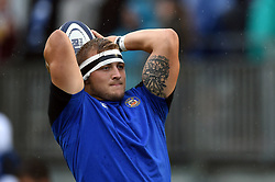Jack Walker of Bath Rugby in action during the pre-match warm-up - Mandatory byline: Patrick Khachfe/JMP - 07966 386802 - 24/08/2018 - RUGBY UNION - The Recreation Ground - Bath, England - Bath Rugby v Scarlets - Pre-season friendly