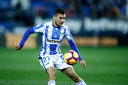 November 23, 2018 - Leganes, MADRID, SPAIN - Oscar of Leganes during the Spanish Championship La Liga football match between CD Leganes and Deportivo Alaves on November 23th, 2018 at Estadio de Butarque in Leganes, Madrid, Spain. (Credit Image: © AFP7 via ZUMA Wire)