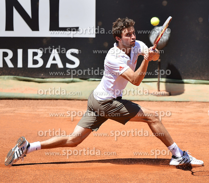17.05.2012, Foro Italico, Rom, ITA, ATP World Tour, Internationali BNL d Italia, im Bild Gilles Simon France // during the ATP World Tour, Internationali BNL d Italia at the Foro Italico, Rome, Italy on 2012/05/17. EXPA Pictures © 2012, PhotoCredit: EXPA/ Insidefoto/ Andrea Staccioli..***** ATTENTION - for AUT, SLO, CRO, SRB, SUI and SWE only *****