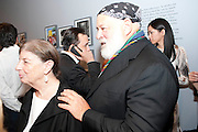 NAN BUSH; BRUCE WEBER, MOCA RECEPTION, Opening of ÔJonathan Meese: SculptureÔ, from the Knight Exhibition Series. Also on view: ÔBruce Weber: Haiti / Little HaitiÔ, Hosted by Bonnie Clearwater and Vanity Fair International. Museum of Contemporary Art, 770 NE 125 Street, North Miami 30 NOVEMBER 2010. -DO NOT ARCHIVE-© Copyright Photograph by Dafydd Jones. 248 Clapham Rd. London SW9 0PZ. Tel 0207 820 0771. www.dafjones.com.<br /> NAN BUSH; BRUCE WEBER, MOCA RECEPTION, Opening of 'Jonathan Meese: Sculpture', from the Knight Exhibition Series. Also on view: 'Bruce Weber: Haiti / Little Haiti', Hosted by Bonnie Clearwater and Vanity Fair International. Museum of Contemporary Art, 770 NE 125 Street, North Miami 30 NOVEMBER 2010. -DO NOT ARCHIVE-© Copyright Photograph by Dafydd Jones. 248 Clapham Rd. London SW9 0PZ. Tel 0207 820 0771. www.dafjones.com.