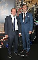 Neil Dudgeon, Gwilym Lee, Specsavers Crime Thriller Awards, Grosvenor House Hotel, London UK, 24 October 2014, Photo by Richard Goldschmidt