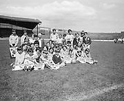 Children's educational tour, Croke Park, Dublin..25.06.1976