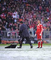 Fussball 1. Bundesliga :  Saison   2009/2010   20. Spieltag  30.01.2010 FC Bayern Muenchen - FSV Mainz 05 ,  Martin Demichelis (FCB)