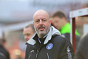 Keith Hill manager during the Sky Bet League 1 match between Barnsley and Rochdale at Oakwell, Barnsley, England on 23 January 2016. Photo by Daniel Youngs.