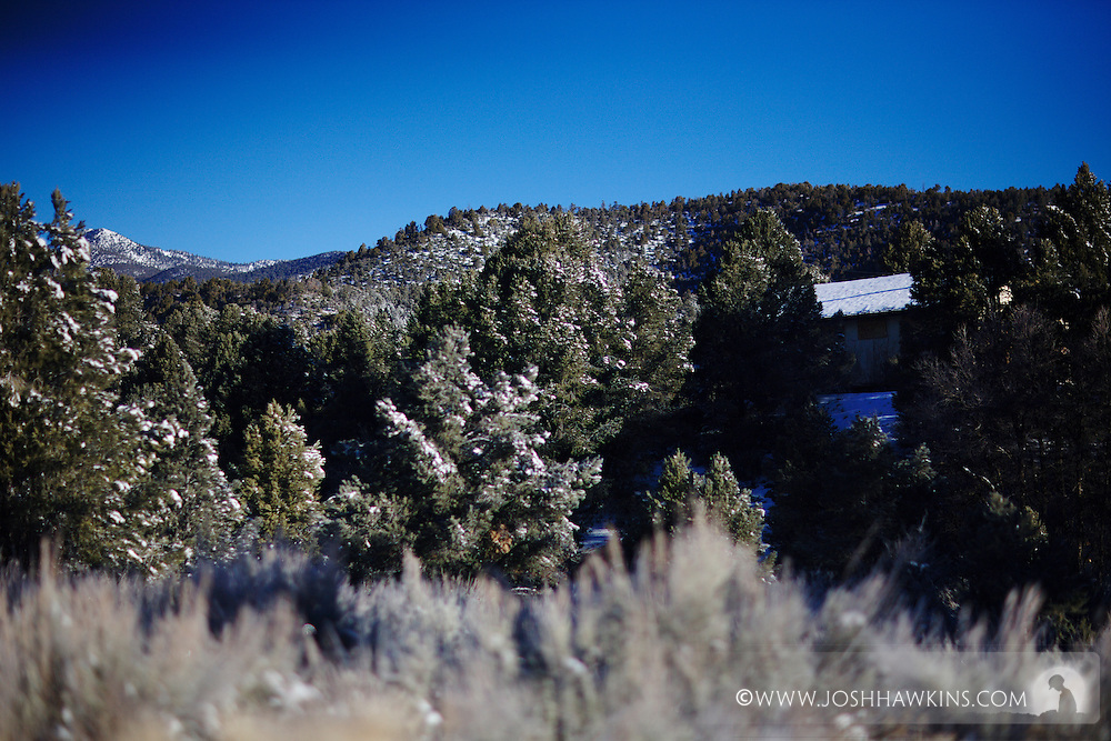 Lovell Canyon in the Spring Mountain Forest Preserve outside Las Vegas, NV