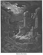 Babylon has Fallen [Revelation 18:2] From the book 'Bible Gallery' Illustrated by Gustave Dore with Memoir of Dore and Descriptive Letter-press by Talbot W. Chambers D.D. Published by Cassell & Company Limited in London and simultaneously by Mame in Tours, France in 1866