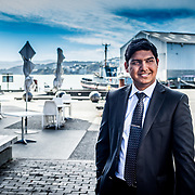 KPMG, Wellington Waterfront, editorial portraits. Andrew, Shanol and Natalia.