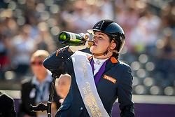 Podium Freestyle, Grade IV, Gold Medal, Voets Sanne, NED<br /> European Championship Dressage<br /> Rotterdam 2019<br /> © Hippo Foto - Dirk Caremans