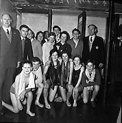 Life Saving Society,  Royal Eighteenth Annual Gala at Iveagh Baths, Dublin..10.11.1961
