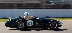 17.04.2010, Hockenheimring, Hockenheim, Hockenheim Historic, Race History On Track, im Bild von links Klaus Edel, Maserati 250F, EXPA Pictures © 2010, PhotoCredit: EXPA/ A. Neis / SPORTIDA PHOTO AGENCY