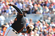 SCOTTSDALE, AZ - MARCH 09:  Johnny Cueto #47 of the San Francisco Giants delivers a pitch in the first inning against the Colorado Rockies at Scottsdale Stadium on March 9, 2016 in Scottsdale, Arizona.  (Photo by Jennifer Stewart/Getty Images) *** Local Caption *** Johnny Cueto