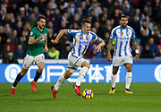 Huddersfield Town's Jonathan Hogg during the Premier League match between Huddersfield Town and West Bromwich Albion at the John Smiths Stadium, Huddersfield, England on 4 November 2017. Photo by Paul Thompson.