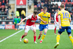 January 26, 2019 - Rotherham, England, United Kingdom - Billy Jones of Rotherham United on the ball during the Sky Bet Championship match between Rotherham United and Leeds United at the New York Stadium, Rotherham, England, UK, on Saturday 26th January 2019. (Credit Image: © Mark Fletcher/NurPhoto via ZUMA Press)