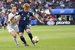 June 10, 2019 - Paris, ile de france, France - Yuika SUGASAWA (JPN)in Action during the match between Argentina and Japan at the 2019 World cup  on June 10, 2019, at the Parc des Princes stadium in Paris, France. (Credit Image: © Julien Mattia/NurPhoto via ZUMA Press)