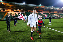Tom de Glanville of England U20 - Mandatory by-line: Robbie Stephenson/JMP - 15/03/2019 - RUGBY - Franklin's Gardens - Northampton, England - England U20 v Scotland U20 - Six Nations U20