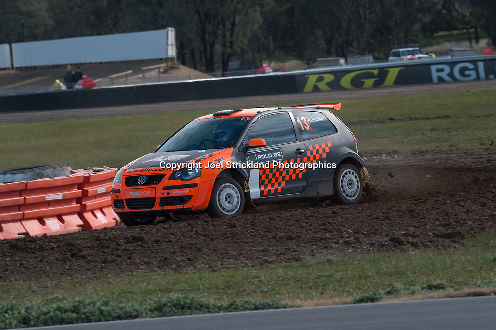 Ashlea James - Vw polo - Rallycross Australia - Winton Raceway - 16th July 2017