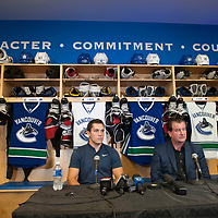 Bo Horvat Press Conference