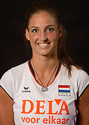 25-06-2013 VOLLEYBAL: NEDERLANDS VROUWEN VOLLEYBALTEAM: ARNHEM<br /> Selectie Oranje vrouwen seizoen 2013-2014 / Myrthe Schoot<br /> ©2013-FotoHoogendoorn.nl