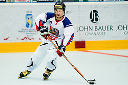 David Sebek of Czech Republic at IIHF In-Line Hockey World Championships Quarter final match between national teams of Czech Republic and Slovenia on July 1, 2010, in Karlstad, Sweden. (Photo by Matic Klansek Velej / Sportida)