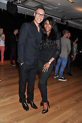 GOK WAN and SINITTA at West End Eurovision 2013 held at the  Dominion Theatre, London on 23rd May 2013.