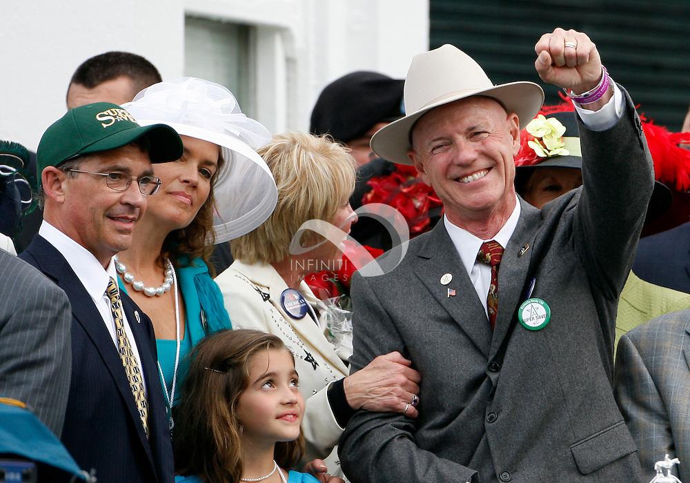 1 May 2010:  2010 Kentucky Derby at Churchill Downs in Louisville, KY won by Super Saver - Jockey Calvin Borel