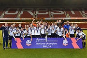 Bolton Wanderers Under 23 Champions Development League Play-Off Final match between Nottingham Forest and Bolton Wanderers at the City Ground, Nottingham, England on 4 May 2018. Picture by Jon Hobley.