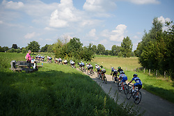 Peloton weave through the countryside at Boels Rental Ladies Tour Stage 6 a 159.7 km road race staring and finishing in Sittard, Netherlands on September 3, 2017. (Photo by Sean Robinson/Velofocus)
