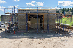 MDC Reservoir No. 6 WTF Blower Building Contract # 2015B-25. Progress Photography Submission 4. 18 August 2016 Image 05