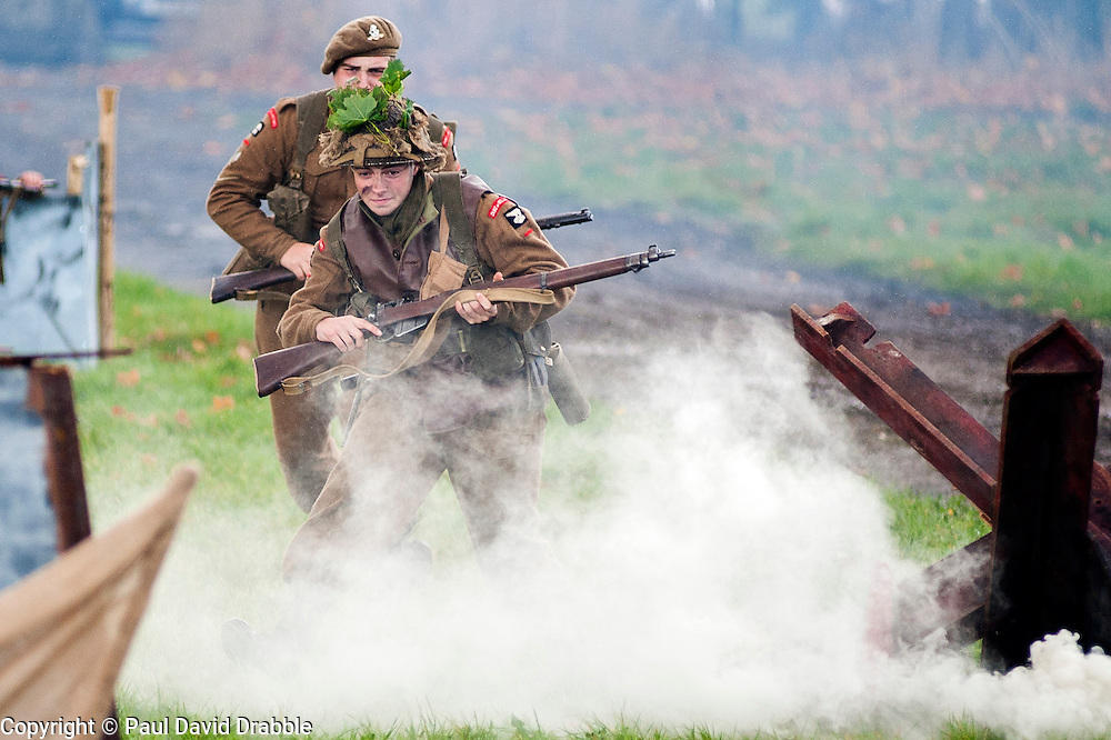 Pickering Show Ground Living History and Battle Reenactments<br /> 13 October 2013<br /> Image &copy; Paul David Drabble<br /> www.pauldaviddrabble.co.uk