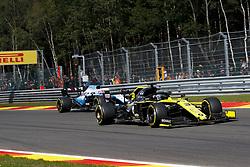 September 1, 2019, Spa-Francorchamps, Belgium: Motorsports: FIA Formula One World Championship 2019, Grand Prix of Belgium, ..#3 Daniel Ricciardo (AUS, Renault F1 Team), #63 George Russell (GBR, ROKiT Williams Racing) (Credit Image: © Hoch Zwei via ZUMA Wire)
