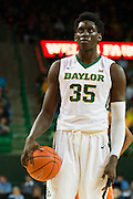 WACO, TX - JANUARY 31: Johnathan Motley #35 of the Baylor Bears shoots a free-throw against the Texas Longhorns on January 31, 2015 at the Ferrell Center in Waco, Texas.  (Photo by Cooper Neill/Getty Images) *** Local Caption *** Johnathan Motley