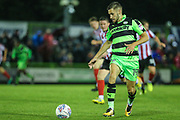 Forest Green Rovers William Randall(19) runs forward during the EFL Sky Bet League 2 match between Forest Green Rovers and Lincoln City at the New Lawn, Forest Green, United Kingdom on 12 September 2017. Photo by Shane Healey.