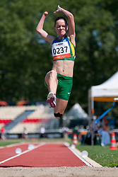 FINDER Sheila, BRA, Long Jump, T46, 2013 IPC Athletics World Championships, Lyon, France