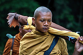 100 Monks Trek Across Thailand