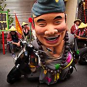 Ji Gong Great God General form Putz Santiatz Array, Mazu Parade, Tainan City, Taiwan