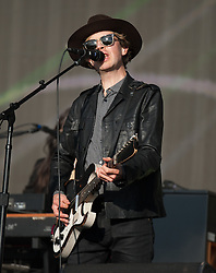 © Licensed to London News Pictures. 18/06/2015. London, UK.   Beck performing live at Hyde Park, supporting headliner The Strokes.   NO CREDIT