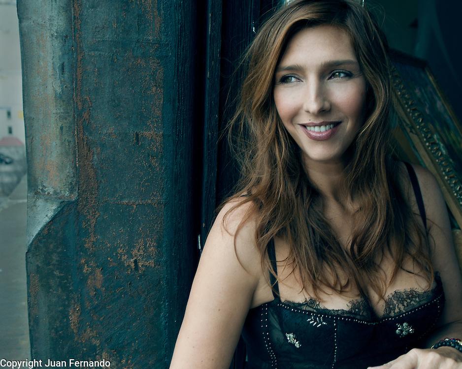 Cristina Morrison photographed in New York for Dolce Vita Magazine.