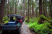 Ocean raft and 4x4 Adventure tour, Kruzof Island, Sitka, Alaska
