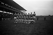 17/03/1969<br /> 03/17/1969<br /> 17 March 1969<br /> Railway Cup Final: Munster v Connacht at Croke Park, Dublin.<br /> Munster team.