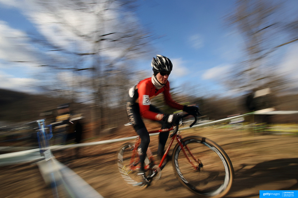 Daniel Chabanov in action during the Cyclo-Cross, Supercross Cup 2013 UCI Weekend at the Anthony Wayne Recreation Area, Stony Point, New York. USA. 24th November 2013. Photo Tim Clayton